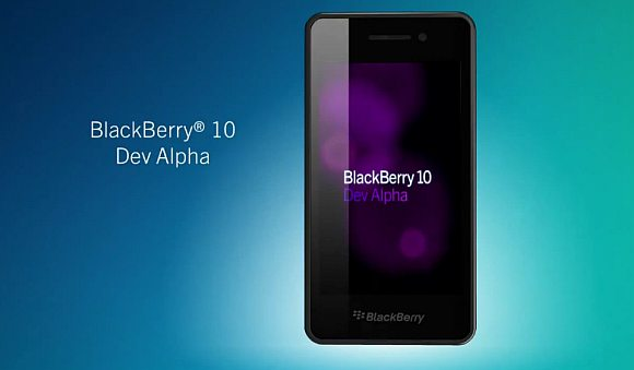 BlackBerry Dev Alpha