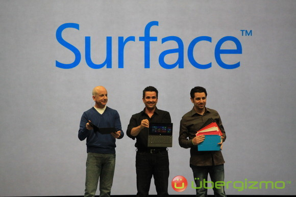 All items announced to do with Surface