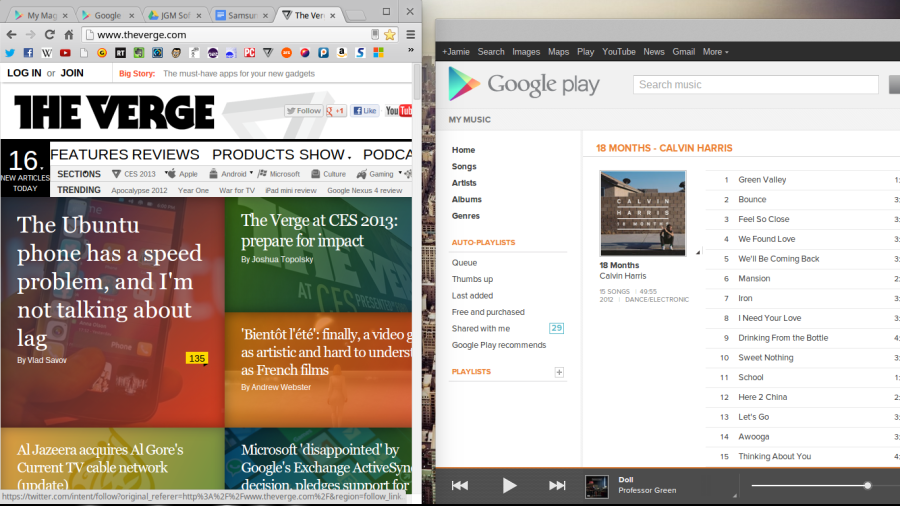Chrome OS Screenshot 1
