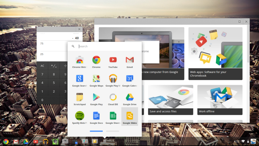 Chrome OS Screenshot 2